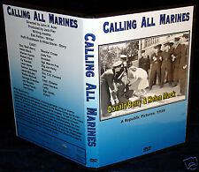 CALLING ALL MARINES - DVD - Donald Berry & Helen Mack