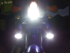 BMW Motorcycle Single Twin F-Series GS Xenon Halogen Fog Lamps Driving Light Kit