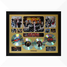 AC/DC Signed & Framed Memorabilia - 4 CD - Gold - Limited Edition - ACDC