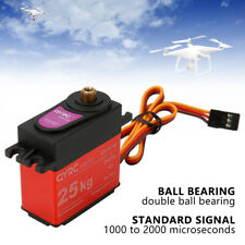 25KG Digital High Torque Metal Gear RC Servo Motor For Airplane Boat Waterproof