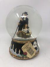 Phantom Of The Opera San Francisco Music Box Snow Globe Journey to Lair - Boat
