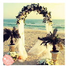 7.5 Feet White Metal Arch for Wedding Party Decoration - Free & Fast Shipping