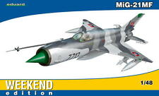 MiG-21 MF FISHBED J (SLOVAK AF MKGS) 1/48 EDUARD WEEKEND EDITION