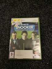 New listing World Snooker Championship 2007 (Xbox 360) with Manual