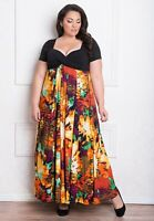 Igigi Womens Dress Maxi 26 28 4X Plus Size Christina Style Made USA Lined Floral
