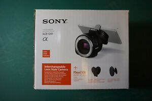 Sony ilçe-qx1 Objektiv Stil Kamera für Smartphone 20.1mp Free Angle Shooting Kit