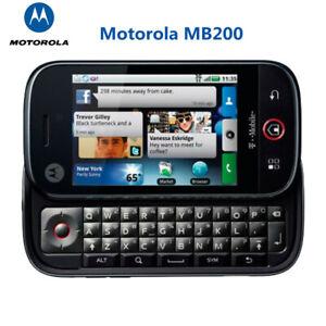 Motorola Cliq MB200 Android Original Unlocked Smartphone WIFI QWERTY Keyboard 3G