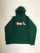SUPREME CAT IN THE HAT HOODIE MEDIUM - DARK GREEN  SOLD OUT bogo tnf box