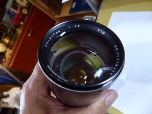 Soligor 70-210 mm Zoom/Macro Objektiv 1:3.5 D=67mm neu ZUBEHÖRPAKET KÖCHER