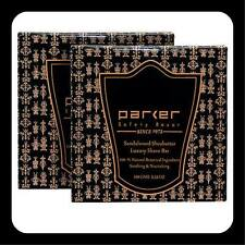 TWIN PACK - Parker 100gm Shave Soap - Sandalwood and Shea Butter