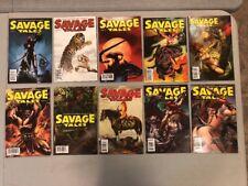 Savage Tales 1-10 Complete Set Red Sonja Dynamite Comics