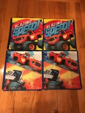 4 NEW Nickelodeon Kids Reusable Shopping Tote Bags - Blazing Speed