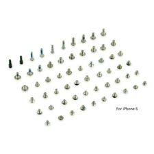 New Complete Replacement Full Screw Set with 2X Bottom Star Screws for iPhone 6