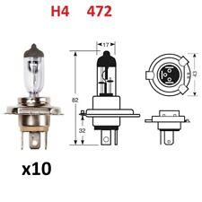 10 No H4 472 Halogen Bulb 12V 60/55w P43T Headlight Car Bulbs Fog Dip Main Beam