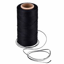 284 Yard 150D 0.8mm Flat Waxed Leather Sewing Thread Cord for Leather DIY Craft