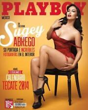 PLAYBOY MEXICO, SUGEY ABREGO, CALENDARIO TECATE 2014, Penthouse