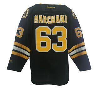 Defective Boston Bruins Brad Marchand NHL Reebok Kids Youth Size Jersey New