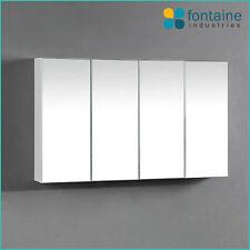Bathroom Mirror Cabinet Medicine Shaving Storage 1000 x 600 NEW 4 Doors