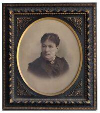 photo Portrait femme par Brion époque fin XIXème