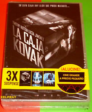 LA CAJA KOVAK + THE RIVER KING + KM 31 -DVD R2- Precintada