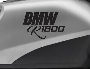 BMW K1600 motorbike bike logo decals CUSTOM COLOUR Vinyl Sticker - Upto 18cm wi