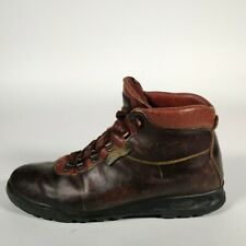 Vintage Vasque Skywalk Mens GoreTex Leather Hiking Boots Size 10 N Made Italy