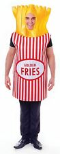 French Fries, Adult Fancy Dress Costume, One Size