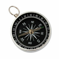 1x Professional Aluminum Military Compass Compass Navigation Tool Wild Survival