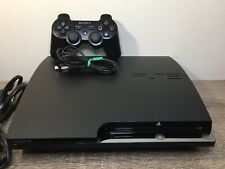 Sony PlayStation 3 PS3 CECH-2501A Slim Console 160 GB w/ Controller - Tested