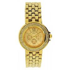 New Softech Diamante Face Designer Rose Gold Analog Watch Quartz