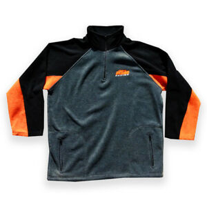 Xxl KTM racing fleece long-sleeve  official motorcycle sweater orange streetwear