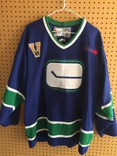 Vancouver Canucks Vintage Collection Team Jersey Adult XL All Patches