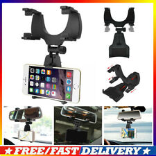New listing New Universal Car Rear-view Mirror Mount Stand Holder Cradle For Cell Phone J8r-