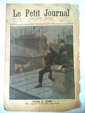 >Le petit Journal 29/01/1899 Agent Victime du Devoir/ Gardes républiquain