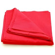 12 Solid Red Head Bandana Bandanas Cotton Scarves Bandanna Dozen Masks 22 x 22