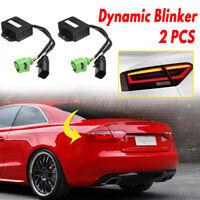 2 x Semi Dynamic Turn Signal Indicator LED Taillight Module For Audi A5 8T