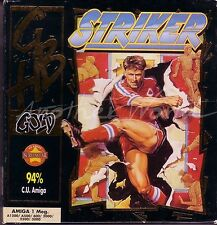 Striker (GBH Gold 1993) Amiga Game - Slim Box Edition - GC & Complete - See Pics