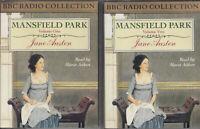 Jane Austen Mansfield Park 4 Cassette Audio Book Abridged BBC Radio Maria Aitken