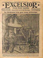 Tommies Artillery Obus Canon British Army Bataille de la Somme Combles WWI 1916