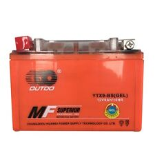 GEL 12V 9Ah Battery Suzuki GSXR 600 650 750 Bandit Katana DR650SE KTM LC4 YTX9BS