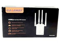 GALAWAY 1200Mbps Dual Band WiFi Range Extender 2.4GHz and 5GHz Signal Extenders