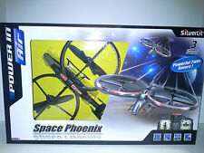 SILVERLIT SPACE PHOENIX  HELICOPTER (84519). NEW IN BOX