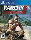 Far Cry 3 Classic Edition Playstation 4 PS4 PS5 Ubisoft Survival Hunting - New!