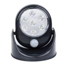 Movimento attivato 360 Rotante Auto PIR Sensore SUPER LUMINOSI 7 LED luce notturna