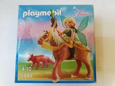 Playmobil 5448 - Waldfee mit Pferd und Fuchs Fee Elfe Bogen   Karton beschädigt