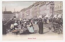 Copenhagen,Denmark,Gammel Strand,Market Place,c.1901-06