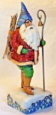 "Jim Shore Heartwood Creek "" Christmas Traveler "" Figurine #F4005448 2006"