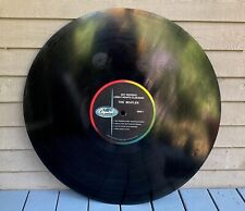 """Rare 1984 The Beatles Sgt. Peppers THINK BIG NYC 34"""" Vinyl Display Record LP"""