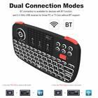 Rii i4 Mini Bluetooth Keyboard 2.4GHz Dual Modes Remote Control for PC TV BOX