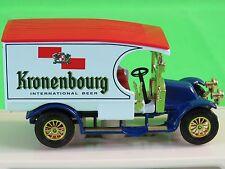Matchbox Yesteryear 1910 Renault AG Kronenbourg Brewery France German Beer YGB07